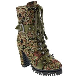 Penny Loves Kenny Womens Frier Lug Sole Boots