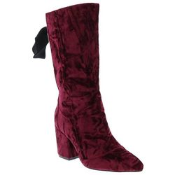 Penny Loves Kenny Womens Trace Velvet Boots