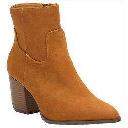 Coconuts Womens Amie Western Style Ankle Boots