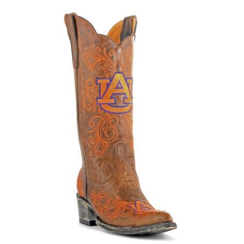 24dd575b9d3 Gameday Auburn Tigers Womens Cowboy Boots