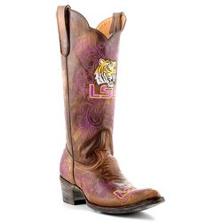 Gameday LSU Tigers Womens Cowboy Boots