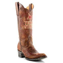 00f6c7e1884fd3 Gameday Texas State Bobcats Womens Cowboy Boots