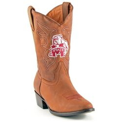 Gameday Mississippi State Boys Cowboy Boots