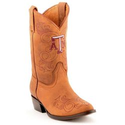 Gameday Texas A&M Aggies Girls Cowboy Boots
