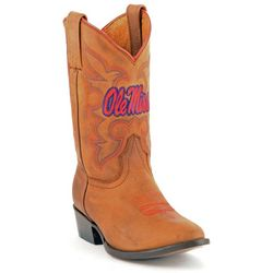 Gameday Boots Ole Miss Rebels Boys Cowboy Boots