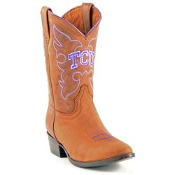 Gameday Boots TCU Horned Frogs Boys Cowboy Boots