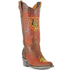Gameday Tuskegee Golden Tigers Womens Cowboy Boots