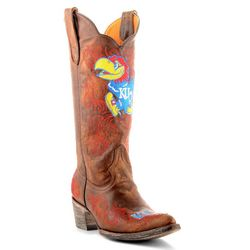 Gameday Kansas Jayhawks Womens Cowboy Boots