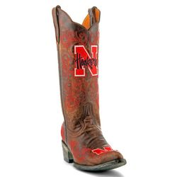 Gameday Nebraska Cornhuskers Womens Cowboy Boots