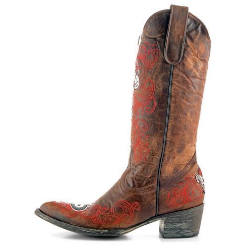 cab55b4eda4 Gameday Georgia Bulldogs Womens Cowboy Boots