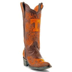 Gameday Tennessee Volunteers Womens Cowboy Boots
