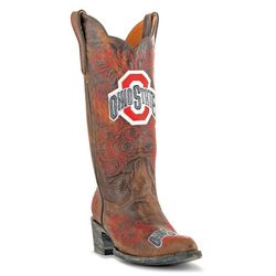 Gameday Ohio State Buckeyes Womens Cowboy Boots