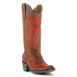 Gameday Arkansas Razorbacks Womens Cowboy Boots
