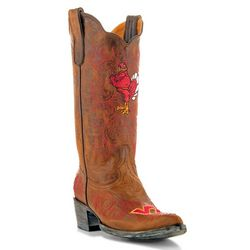 Gameday Virginia Tech Hokies Womens Cowboy Boots
