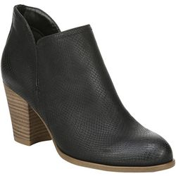 Fergalicious Womens Charley Chop Out Snake Bootie