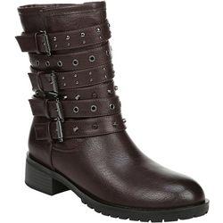 Fergalicious Womens Fantom Multi Strap Boots