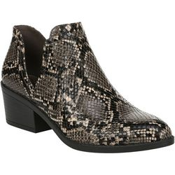 Fergalicious Womens Wilder Snake Ankle Boots