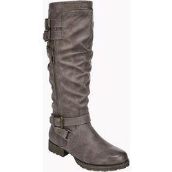 Fergalicious Womens Hazard Multi Strap Tall Boots