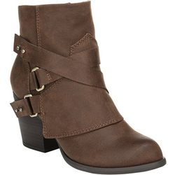 Fergalicious Womens Lethal Cuffed Ankle Boots