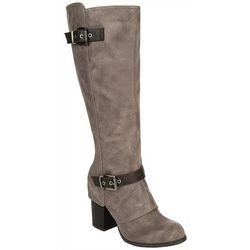 Fergalicious Womens Conner Wide Calf Boots