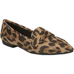 Fergalicious Womens Jemm Leopard Loafers