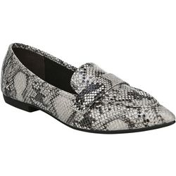 Fergalicious Womens Jemm Snake Loafers