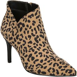 Fergalicious Womens Goldie Leopard Heeled Boots