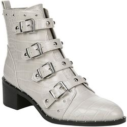 Fergalicious Womens Haven Buckle Ankle Boots
