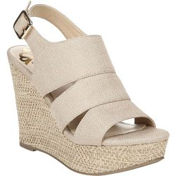 Fergalicious Womens Valentina Wedge Sandals