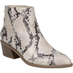 Fergalicious Womens Malinda Snake Print Boots