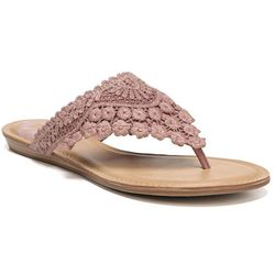 Fergalicious Womens Silence Thong Sandals