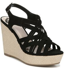 Fergalicious Womens Marilyn Wedge Sandals