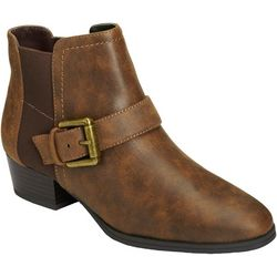 Aerosoles Womens Cross Out Ankle Boots