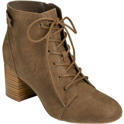 Aerosoles Womens Patch Up Lace Up Boots