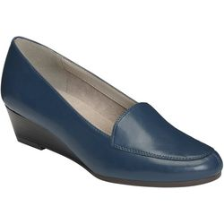 Aerosoles Womens Lovable Wedge Loafer
