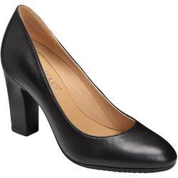 Aerosoles Womens Octagon Leather Heels