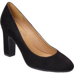 Aerosoles Womens Octagon Suede Heels