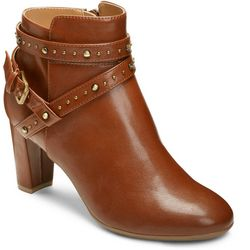 7b9076a2d4992 A2 by Aerosoles Womens Octave Ankle Boots Quick View. DARK TAN. BLACK