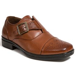 Deer Stags Boys Semi Dress Shoes