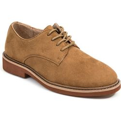 Deer Stags Boys Denny Microsuede Dress Shoes