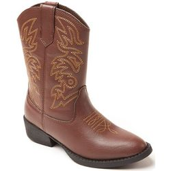 Deer Stags Boys Ranch Boots