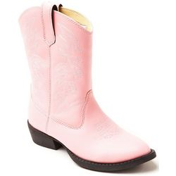 Deer Stags Girls Ranch Boots