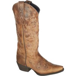 Laredo Womens Cross Point Cowboy Boots