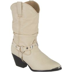 Dingo Womens Olivia Slouch Cowboy Boots