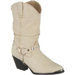 Womens Olivia Slouch Cowboy Boots