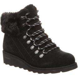 BEARPAW Womens Janae Lace Up Boots