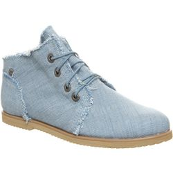 BEARPAW Womens Claire Desert Ankle Boots