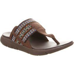 BEARPAW Womens Dakota Thong Sandals