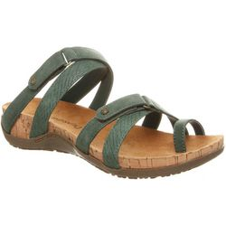 BEARPAW Womens Nadine Toe Loop Slip-On Sandals