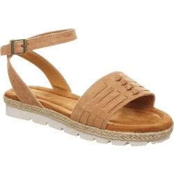 BEARPAW Womens Aubree Huarache Style Sandals